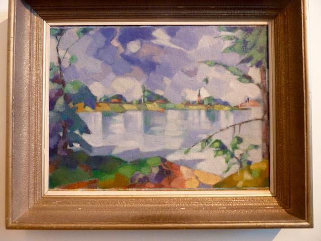 Konrad Mägi (1878-1925) Sjön Saadjärv. 1923 Estlands störste konstnär
