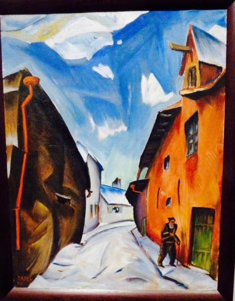 Peet Aren  (1889-1921) Aida Street 1921