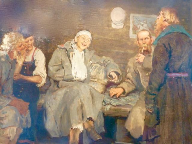 Ilja Repin, Besök i stugan