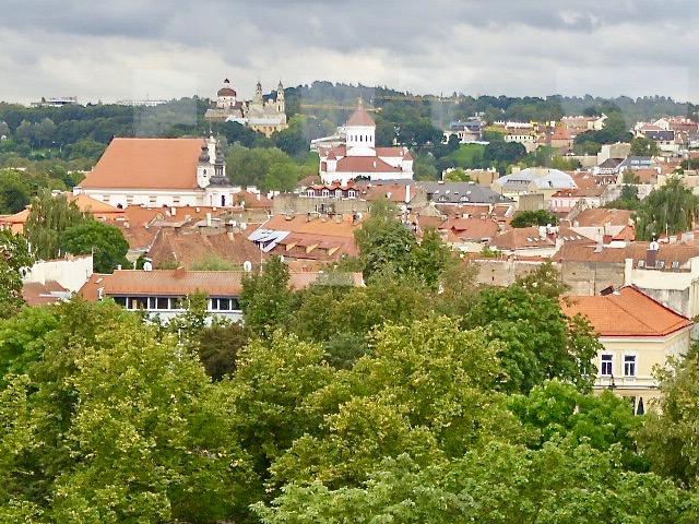 Vilnius har mer än 35 katolska kyrkor och 10 ortodoxa.