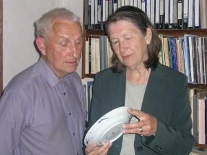 Lars och Ursula Sjöberg - 2018 års mottagare av priset från Stiftelsen Renässans för Humaniora