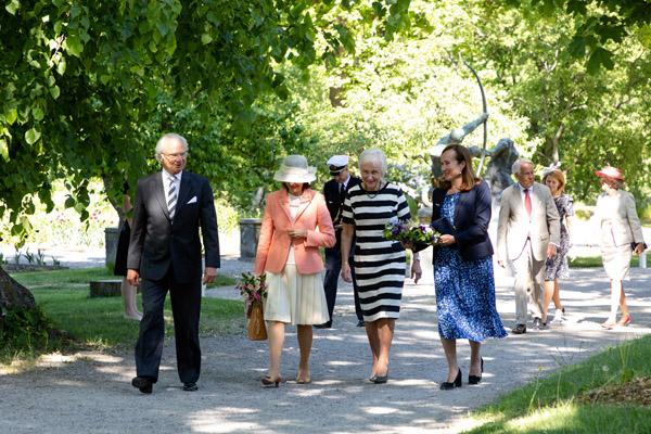 Vandring till Prins Eugens grav