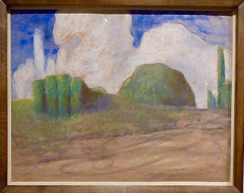 """""""Dagen"""" ur cykeln """"Dagarna"""" 1904-1905. Pastell på papper."""