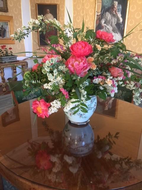 Blomsteruppsatserna på Waldemarsudde var imponerande vackra